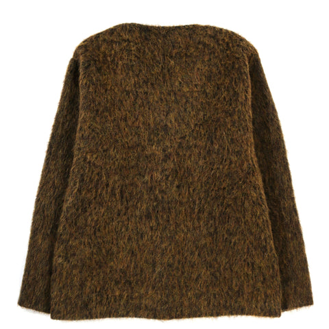 OUR LEGACY SINGLE HOOD BLACK SCUBA