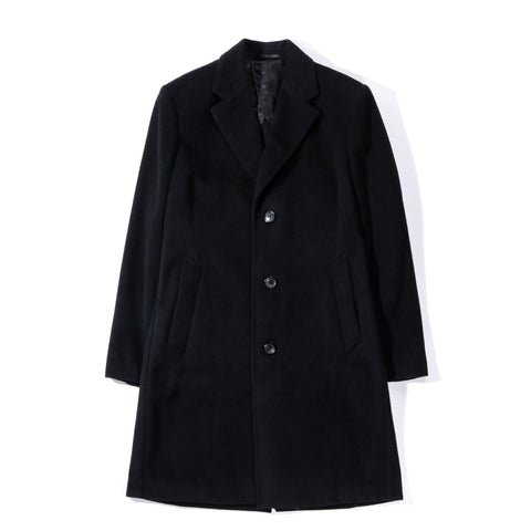 OUR LEGACY UNCONSTRUCTED CLASSIC COAT SOFT BLACK WOOL