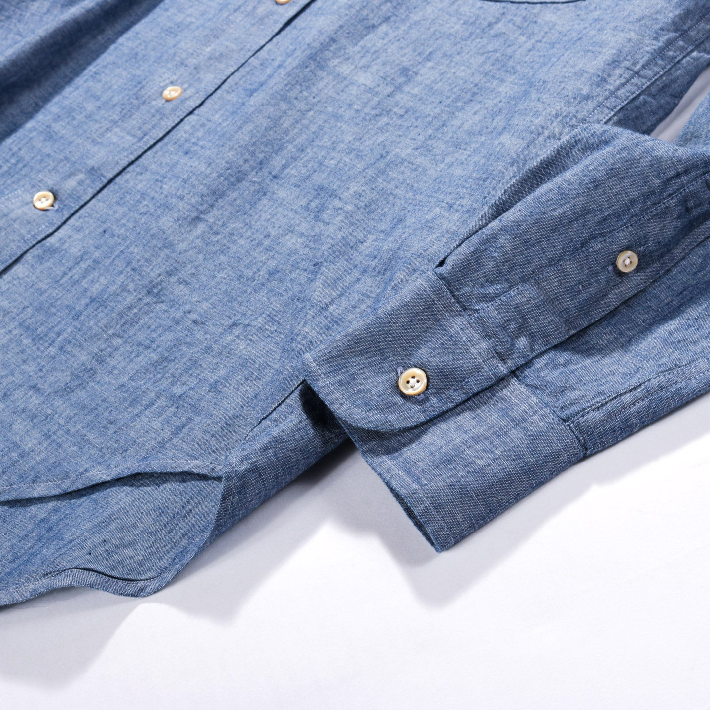 OUR LEGACY ORIGINAL BD BLUE LIGHT CHAMBRAY