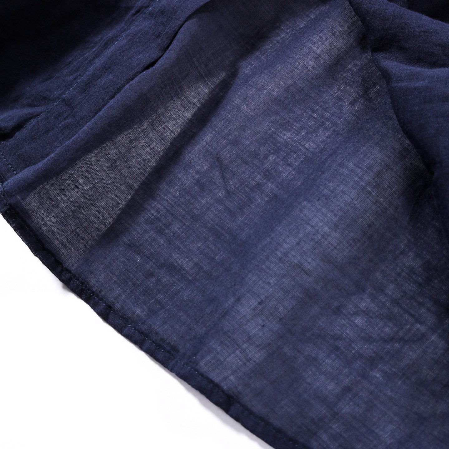 OUR LEGACY CUT AWAY SHIRT INDIGO BLUE