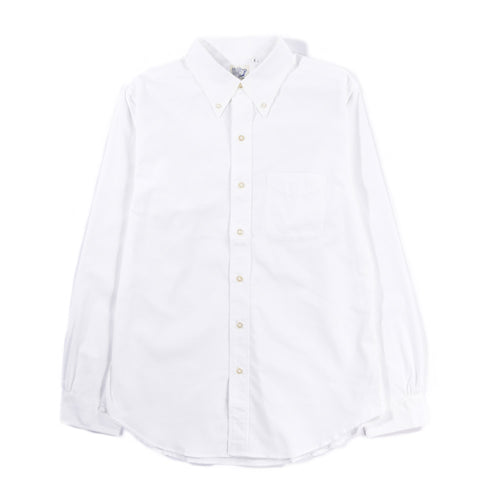 ORSLOW BUTTON DOWN SHIRT WHITE CHAMBRAY