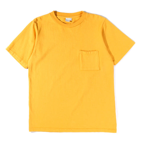PAA SS POCKET TEE GOLDEN YELLOW