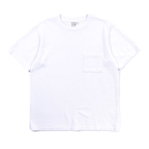 PAA SS POCKET TEE WHITE