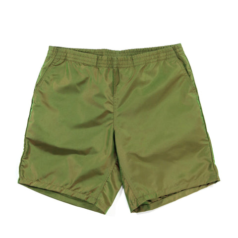PAA WINDBREAKER SHORTS OLIVE IRIDESCENT