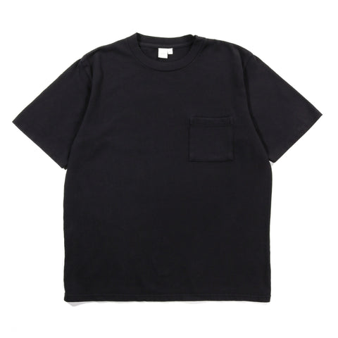 PAA SS POCKET TEE BLACK