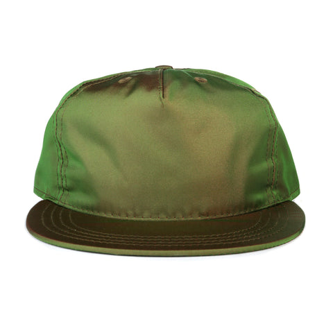 PAA PLEAT CAP OLIVE IRIDESCENT