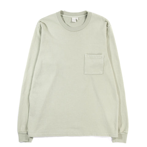 PAA LS POCKET TEE SAGE