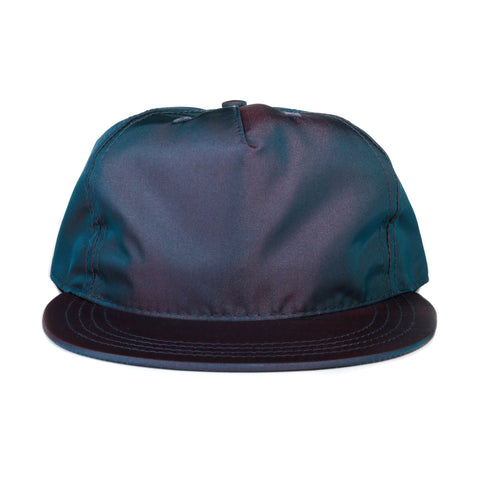 PAA PLEAT CAP NAVY IRIDESCENT