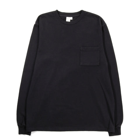 PAA LS POCKET TEE BLACK