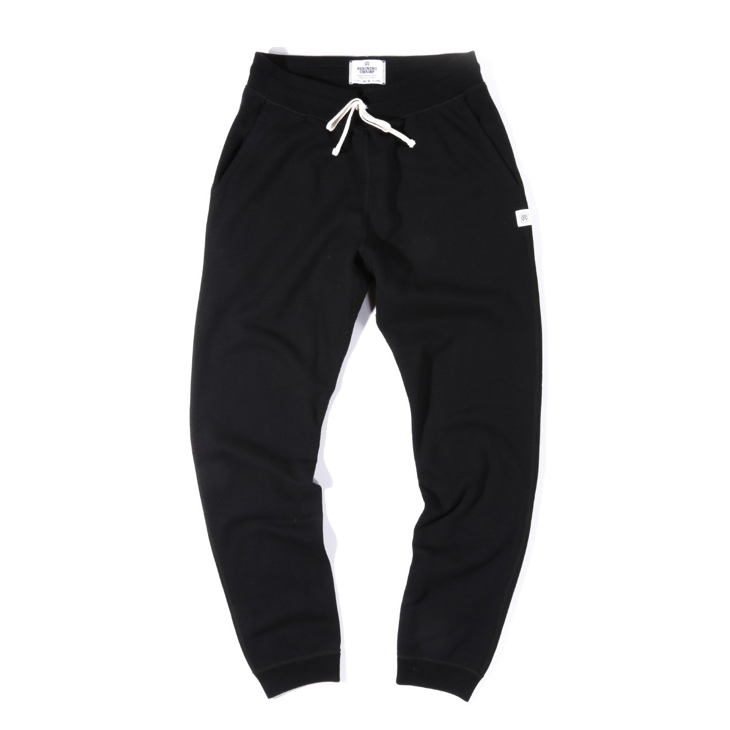 REIGNING CHAMP MIDWEIGHT TERRY SLIM SWEATPANTS BLACK