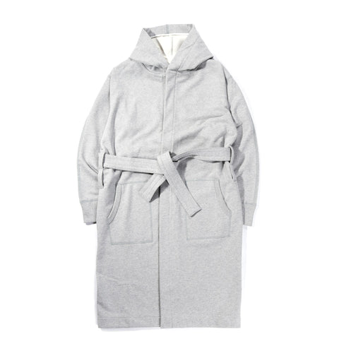REIGNING CHAMP MIDWEIGHT TERRY ROBE HEATHER GREY
