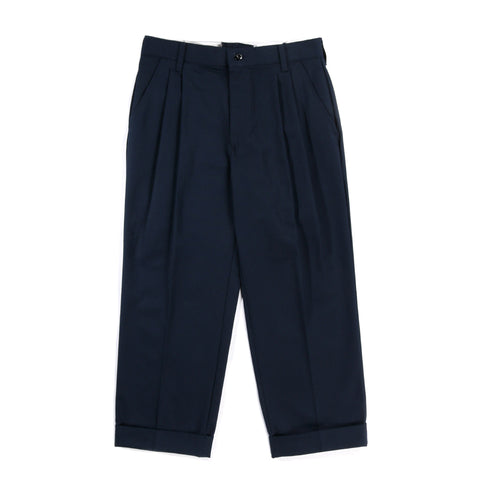RED KAP REMAKE 04 DOUBLE BOTTOM PLEATED WORK PANT NAVY