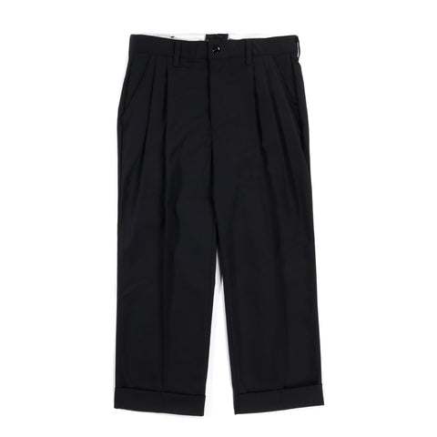 RED KAP REMAKE 04 DOUBLE BOTTOM PLEATED WORK PANT BLACK
