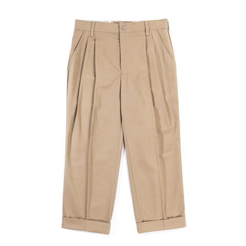 RED KAP REMAKE 04 DOUBLE BOTTOM PLEATED WORK PANT KHAKI