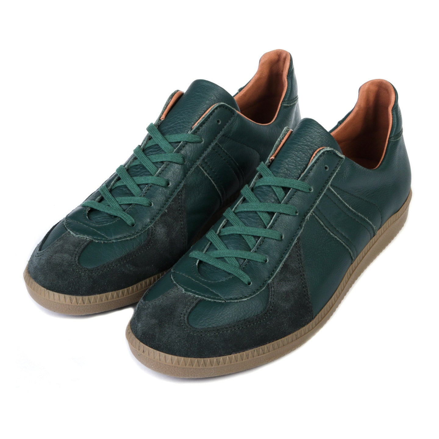 REPRODUCTION OF FOUND GERMAN MILITARY TRAINER DARK GREEN