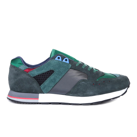 REPRODUCTION OF FOUND FRENCH MILITARY TRAINER CHARCOAL / GREEN