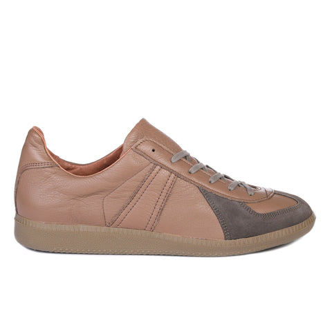 REPRODUCTION OF FOUND GERMAN MILITARY TRAINER DARK BEIGE