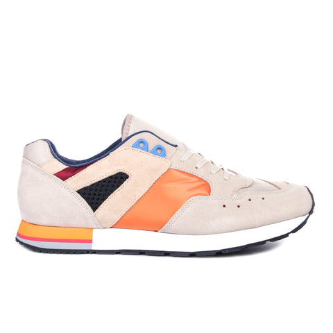 REPRODUCTION OF FOUND FRENCH MILITARY TRAINER ORANGE / BEIGE