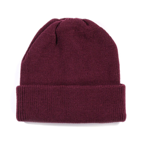 ROTOTO WATCHCAP BURGUNDY