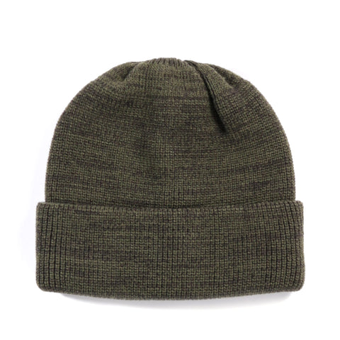 ROTOTO WATCHCAP OLIVE / CHARCOAL