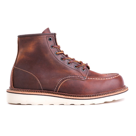 "RED WING 1907 6"" CLASSIC MOC COPPER ROUGH & TOUGH"