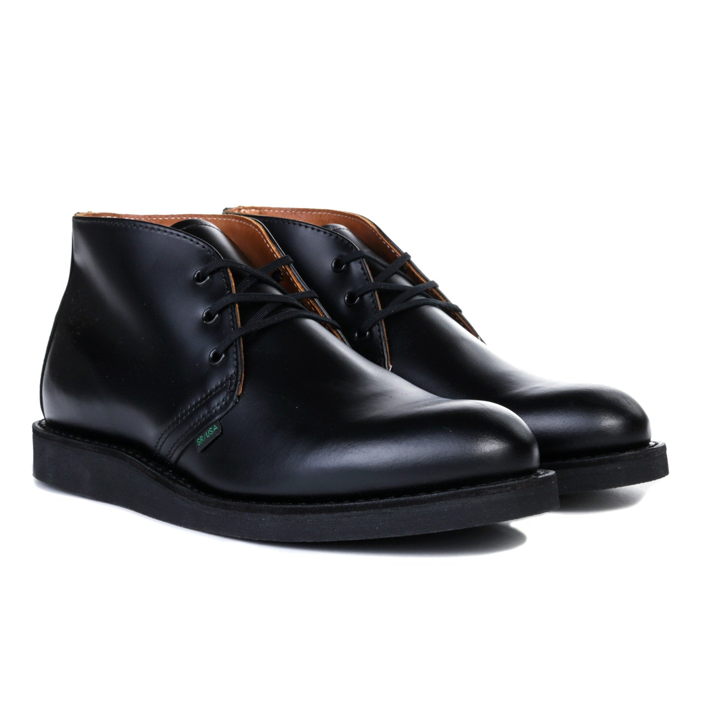RED WING 9196 POSTMAN CHUKKA BLACK