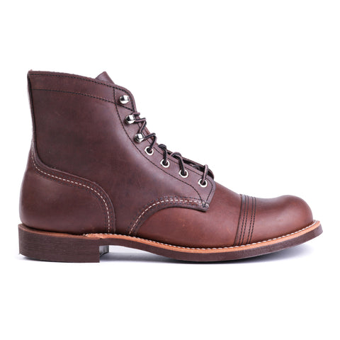 RED WING 8111 IRON RANGER AMBER