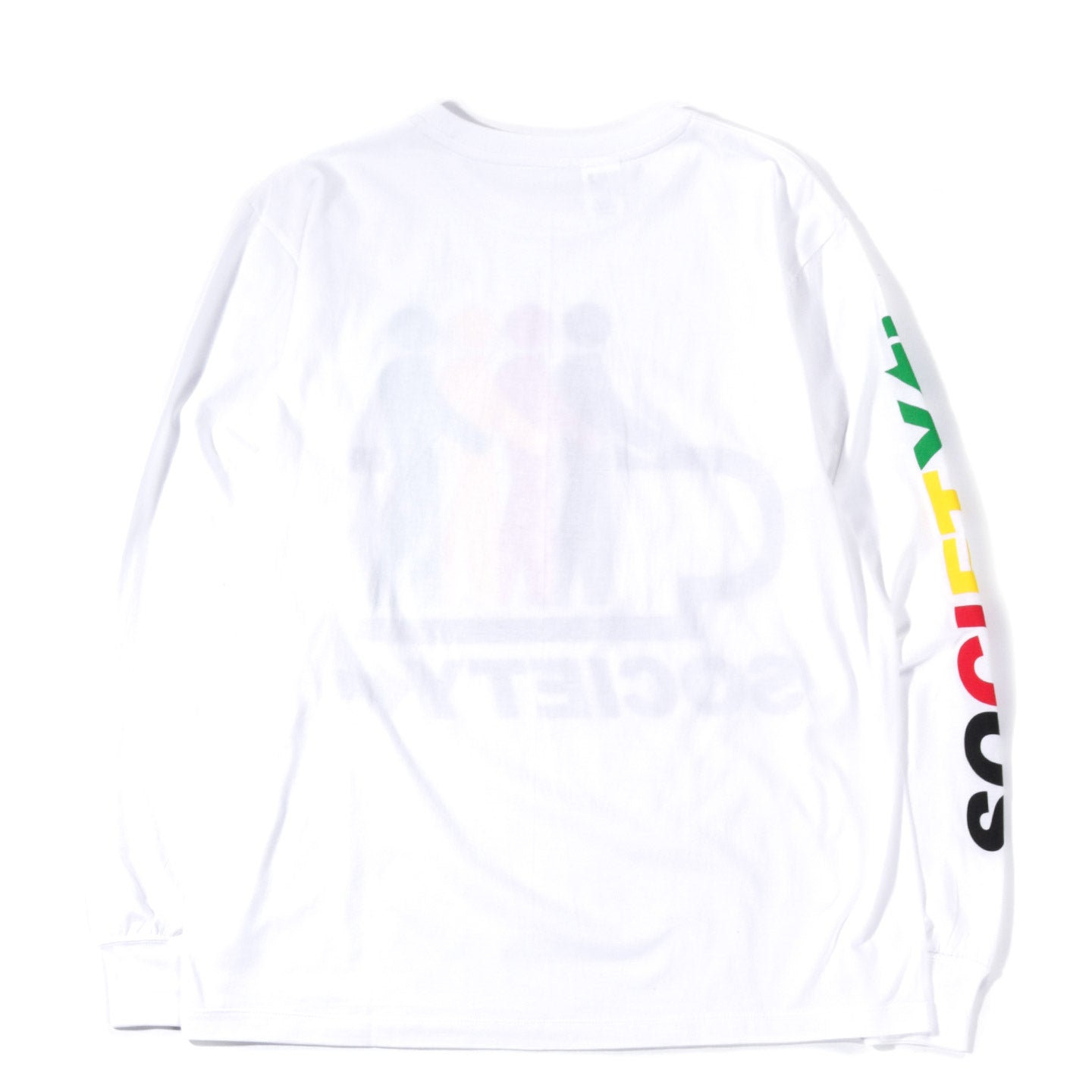 SOCIETY MOVING WALK LS TEE WHITE