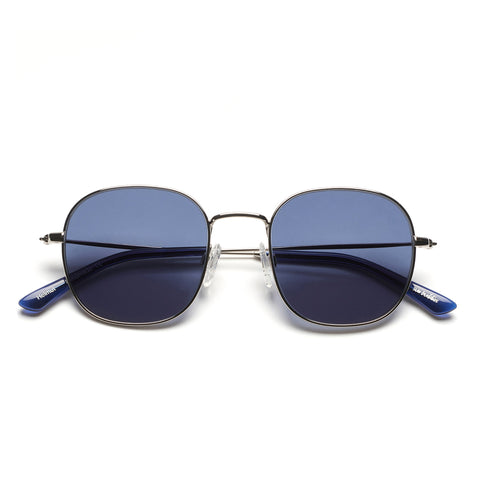 SUN BUDDIES HELMUT SILVER / DARK BLUE