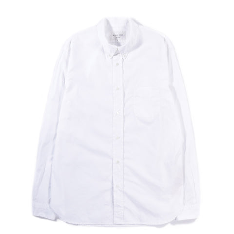 STILL BY HAND SLIM FIT BUTTON DOWN SHIRT WHITE