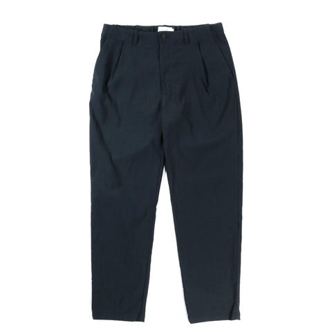 STILL BY HAND TAPERED PANTS DARK TEAL