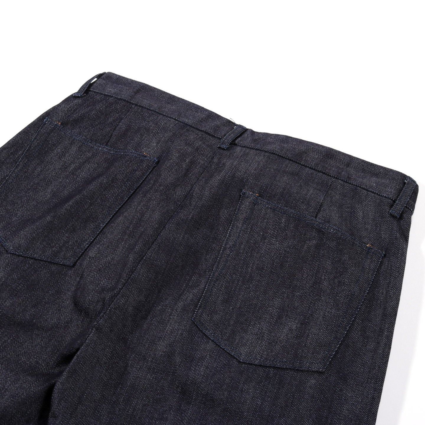 STILL BY HAND INNER COATED PANTS NAVY