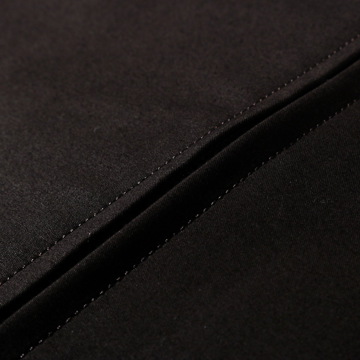 STILL BY HAND ZIP-UP BLOUSON DARK BROWN
