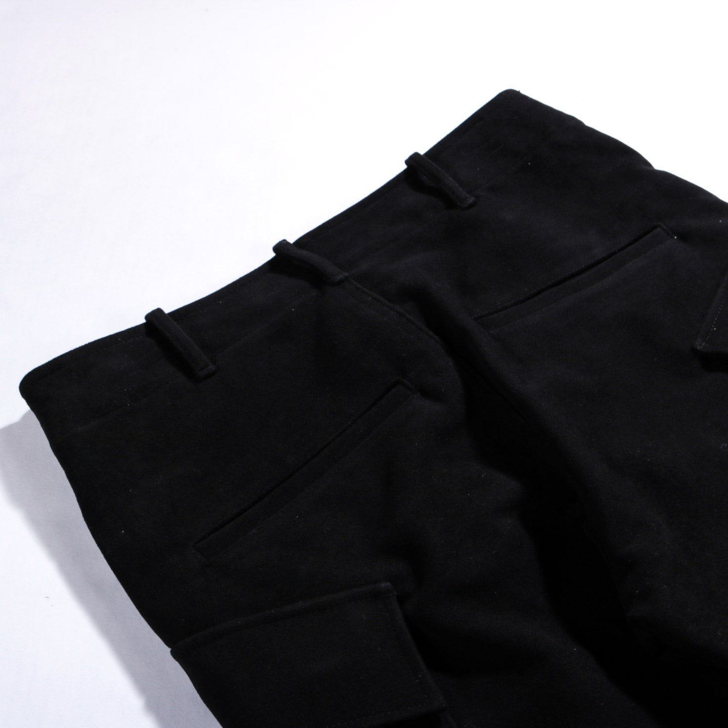 HOUSE OF ST. CLAIR LODGE CARGO PANT BLACK MOLESKIN