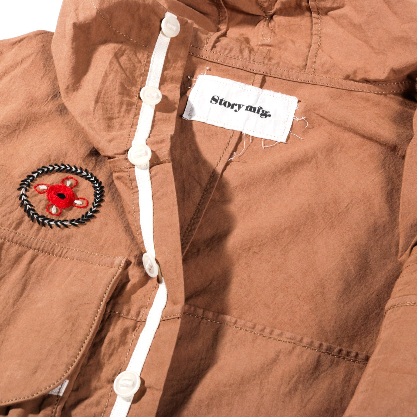 STORY MFG. FORAGER JACKET BARK BROWN OD