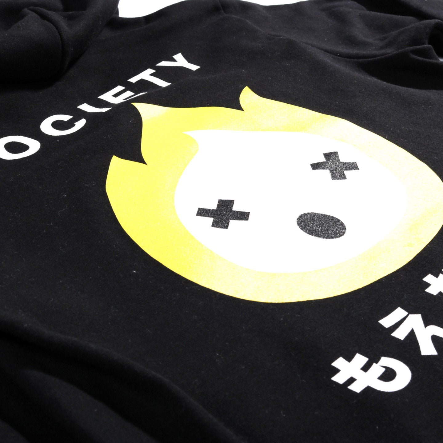 SOCIETY EVERYTHING BURNABLE HOODIE BLACK