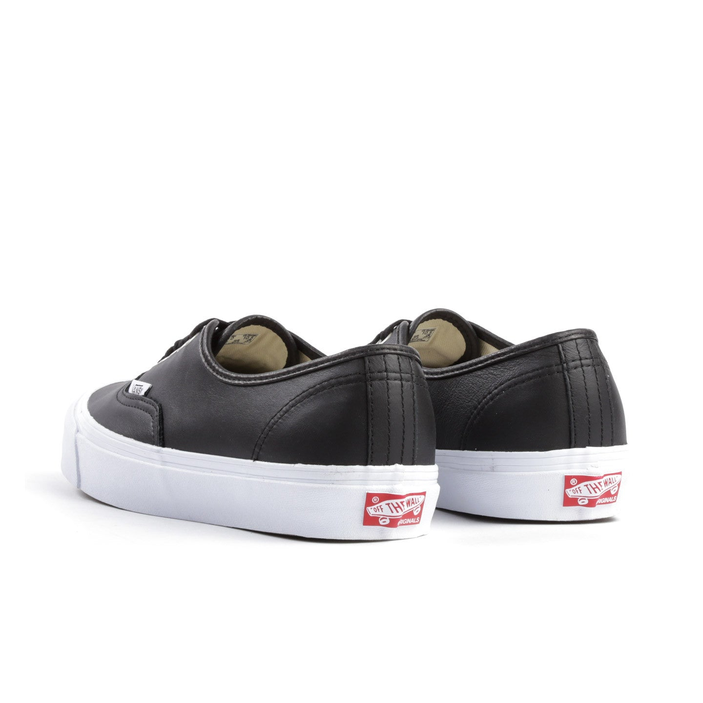VAULT BY VANS OG AUTHENTIC LX BLACK LEATHER