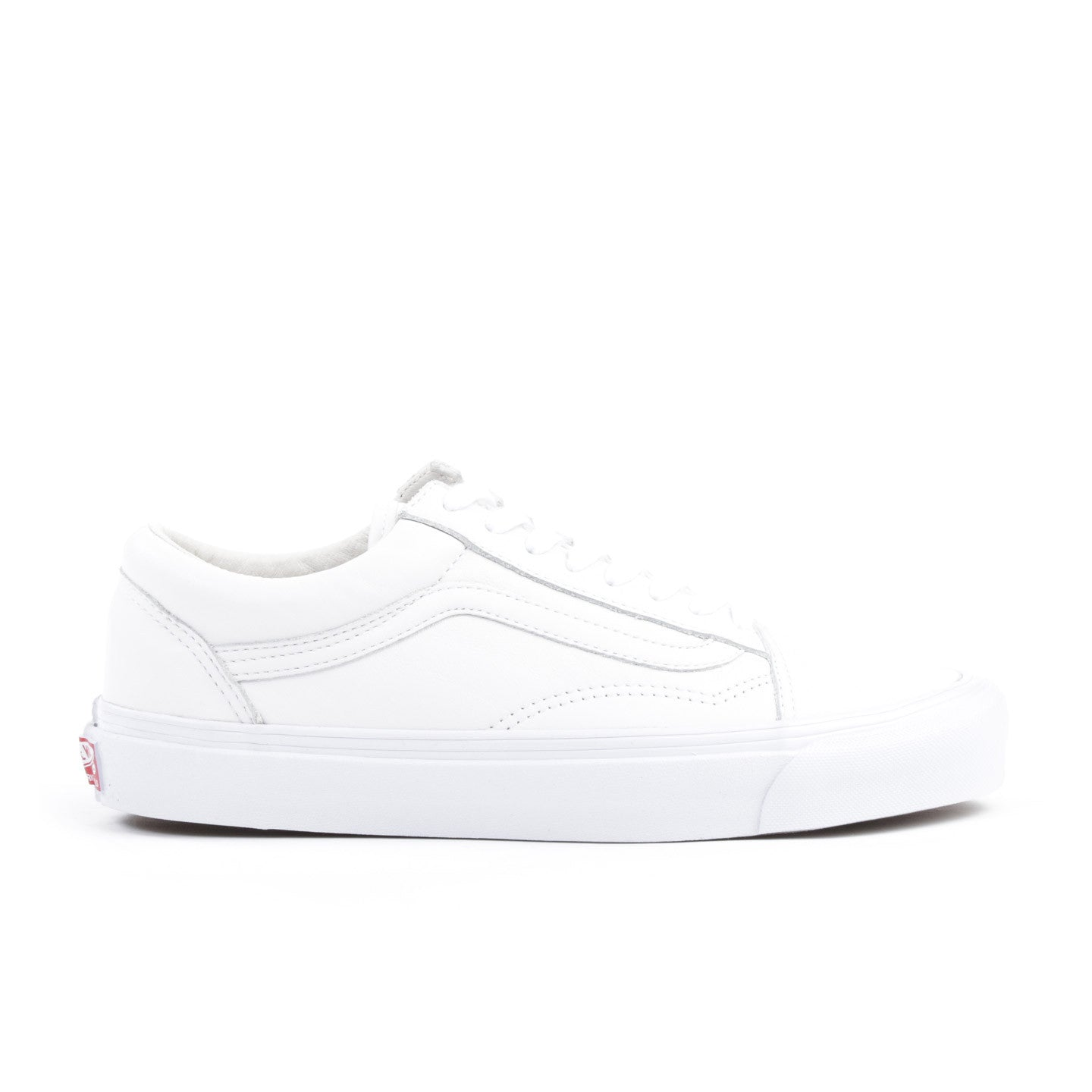 b21455396808 VAULT BY VANS OG OLD SKOOL LX WHITE LEATHER
