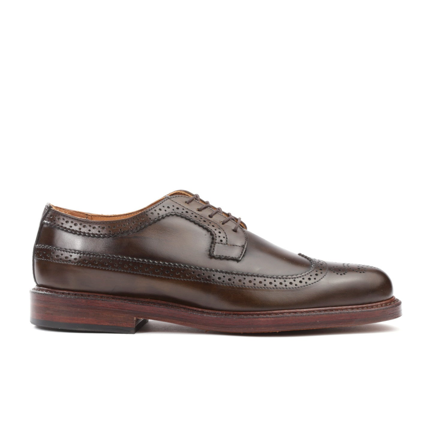 RANCOURT LONGWING BLUCHER OLIVE
