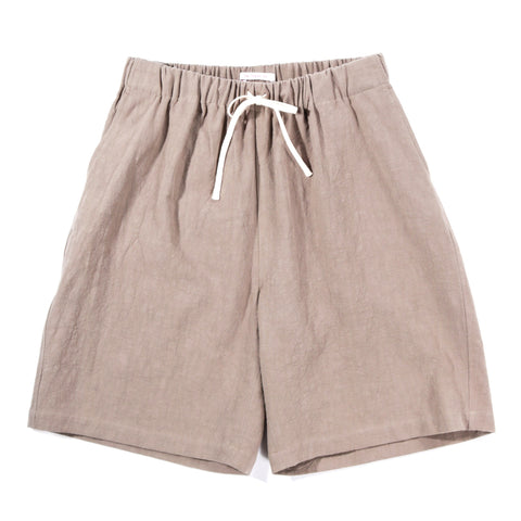 S.K. MANOR HILL LOUNGE SHORT TAUPE RAMIE
