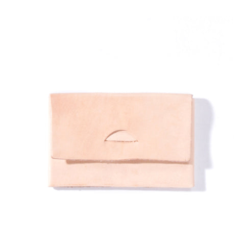 STAY MADE VEG TAN CARD CASE NATURAL