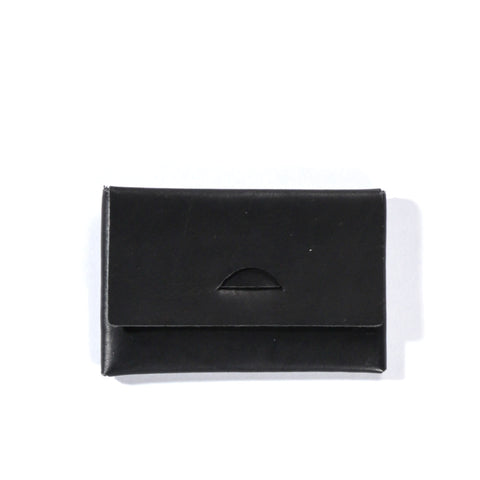 STAY MADE VEG TAN CARD CASE BLACK