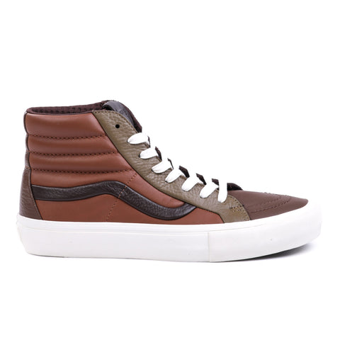 VAULT BY VANS SK8-HI REISSUE ST LX MULTI BROWN