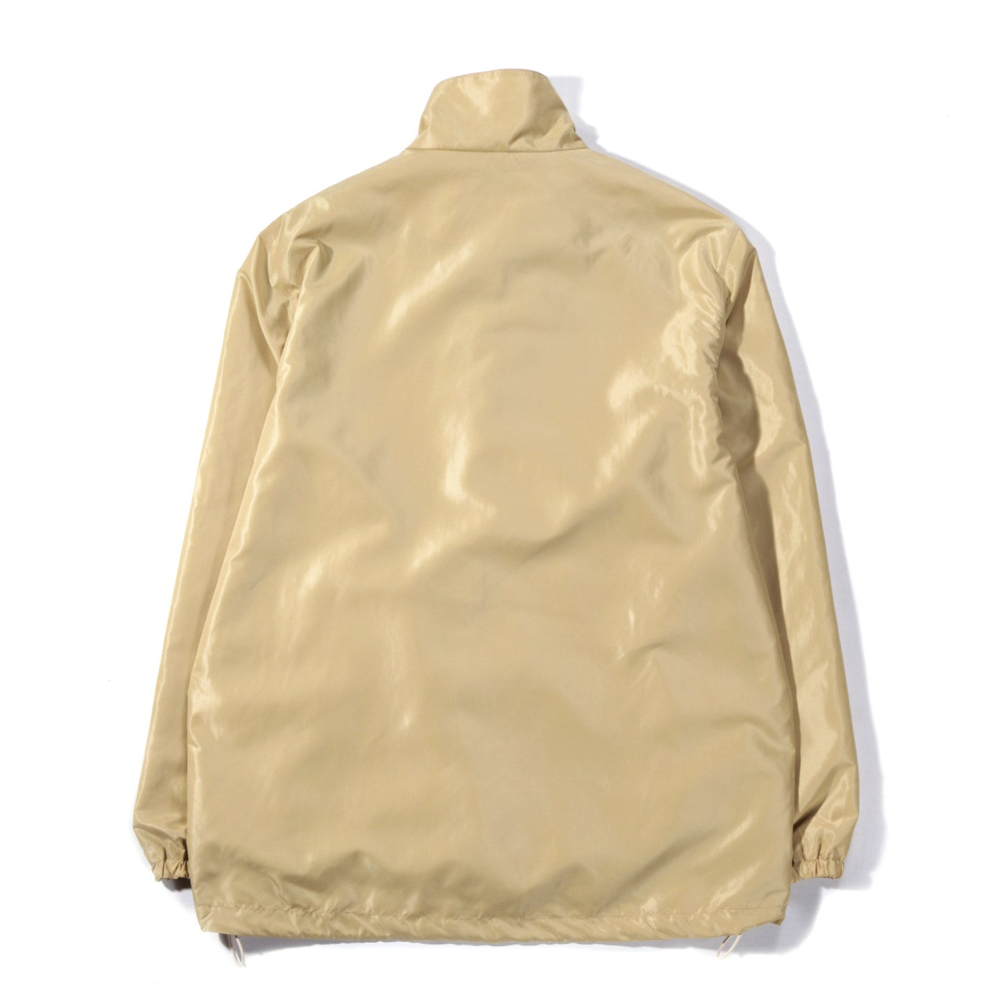 TRES BIEN FUNNEL COAT SHINE BEIGE
