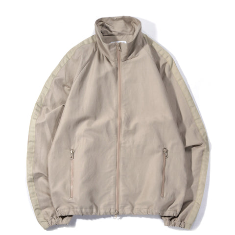 TRES BIEN WARM UP JACKET LINEN TECH BEIGE