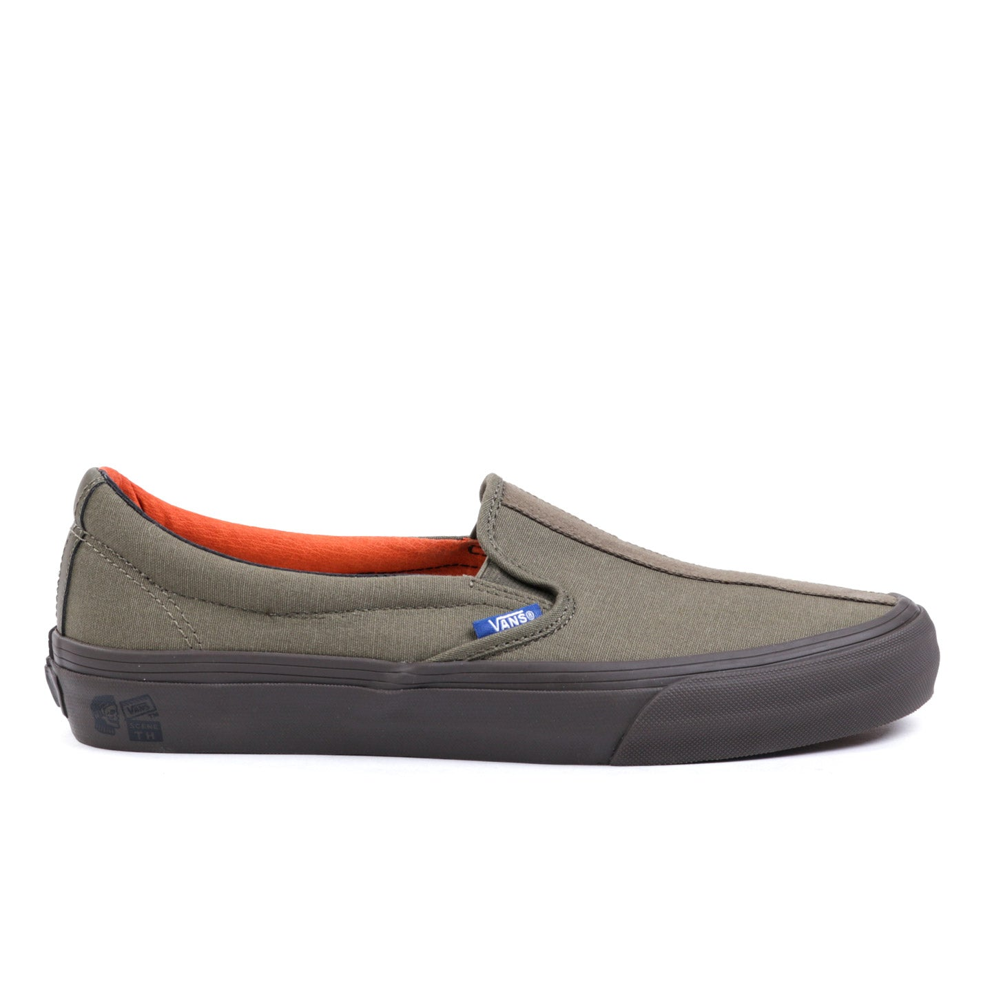 VAULT BY VANS TH SLIP-ON 66 LX STONE GRAY