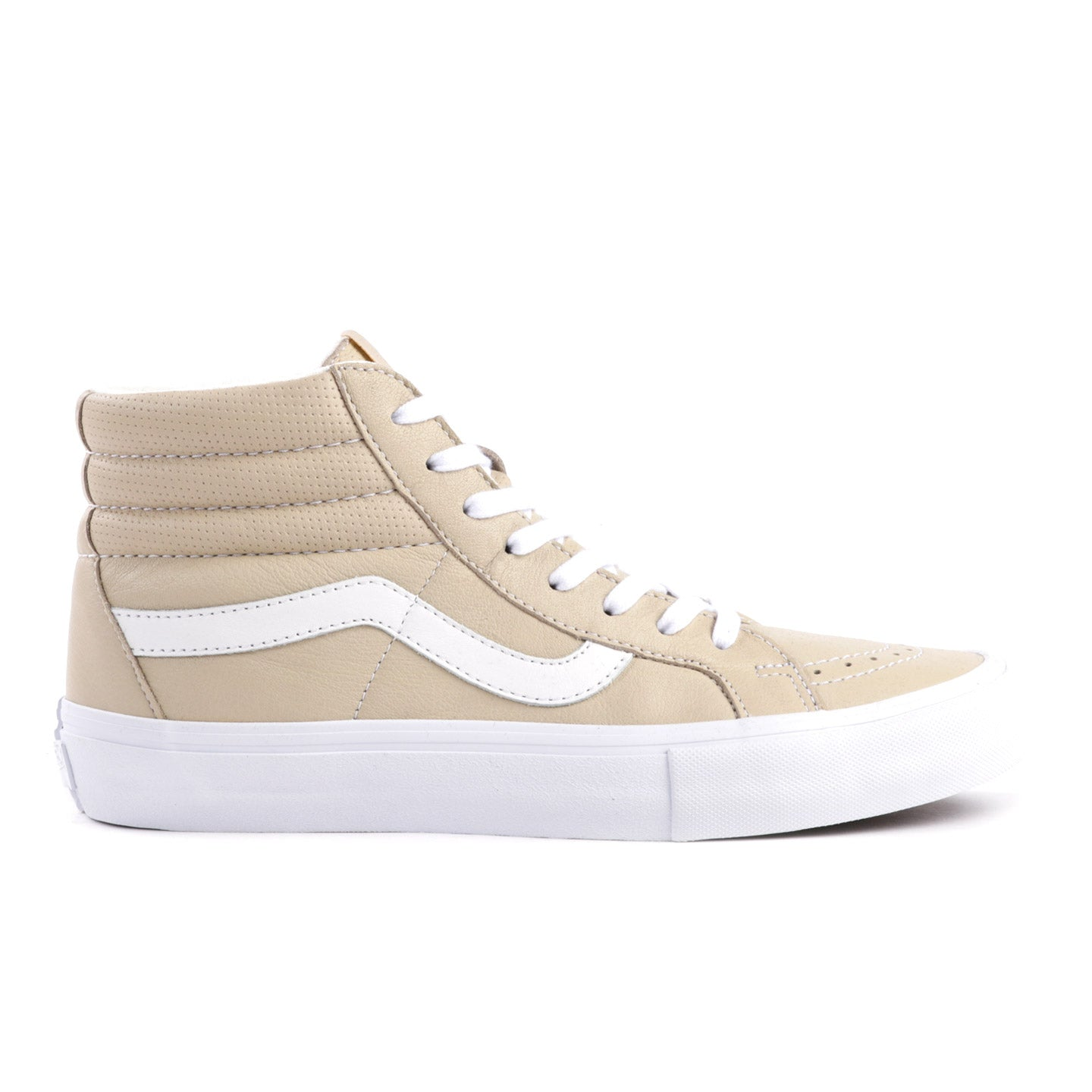 VAULT BY VANS SK8-HI REISSUE LX ITALIAN LEATHER MARMO