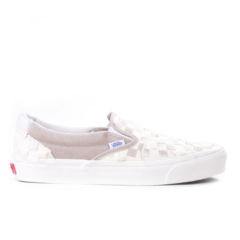 VAULT BY VANS CLASSIC SLIP-ON BRICOLAGE LX CLASSIC WHITE / HUMMUS