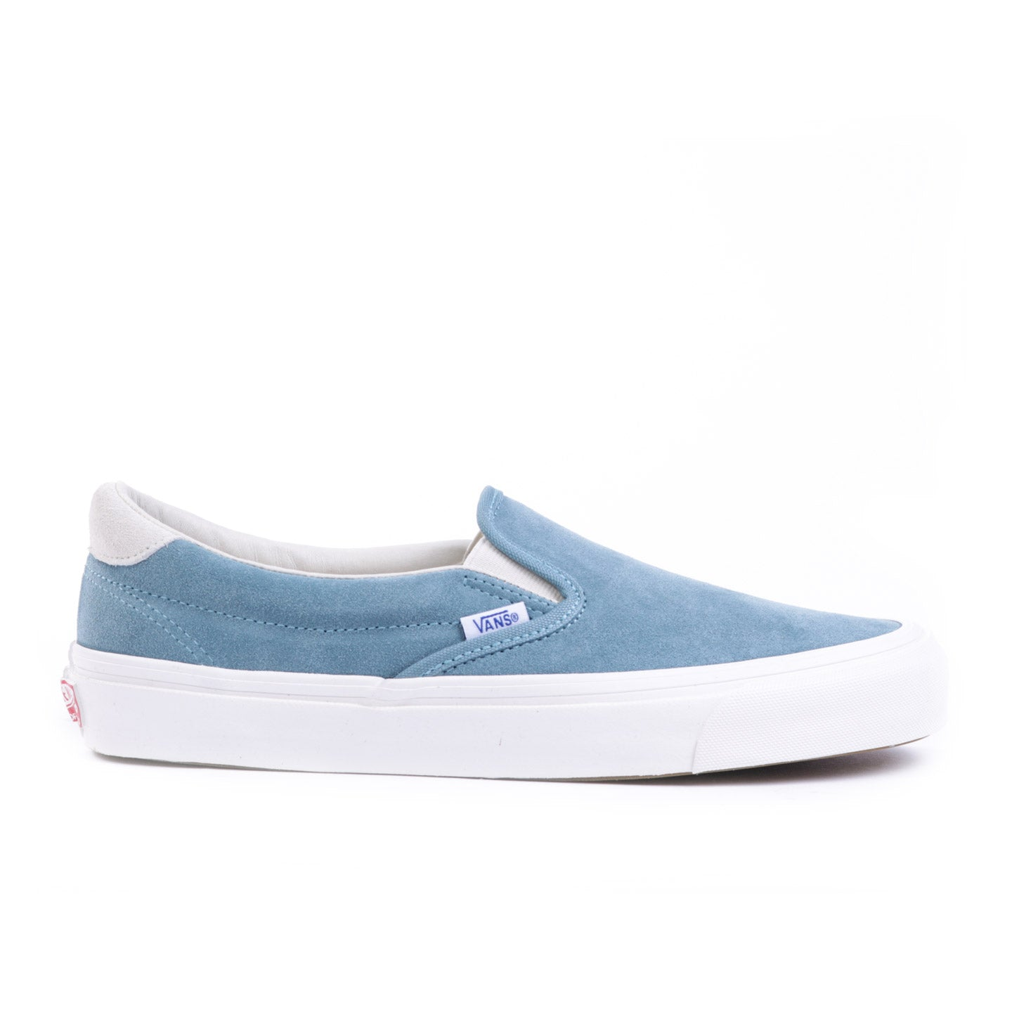 VAULT BY VANS OG SLIP-ON 59 LX SMOKE BLUE