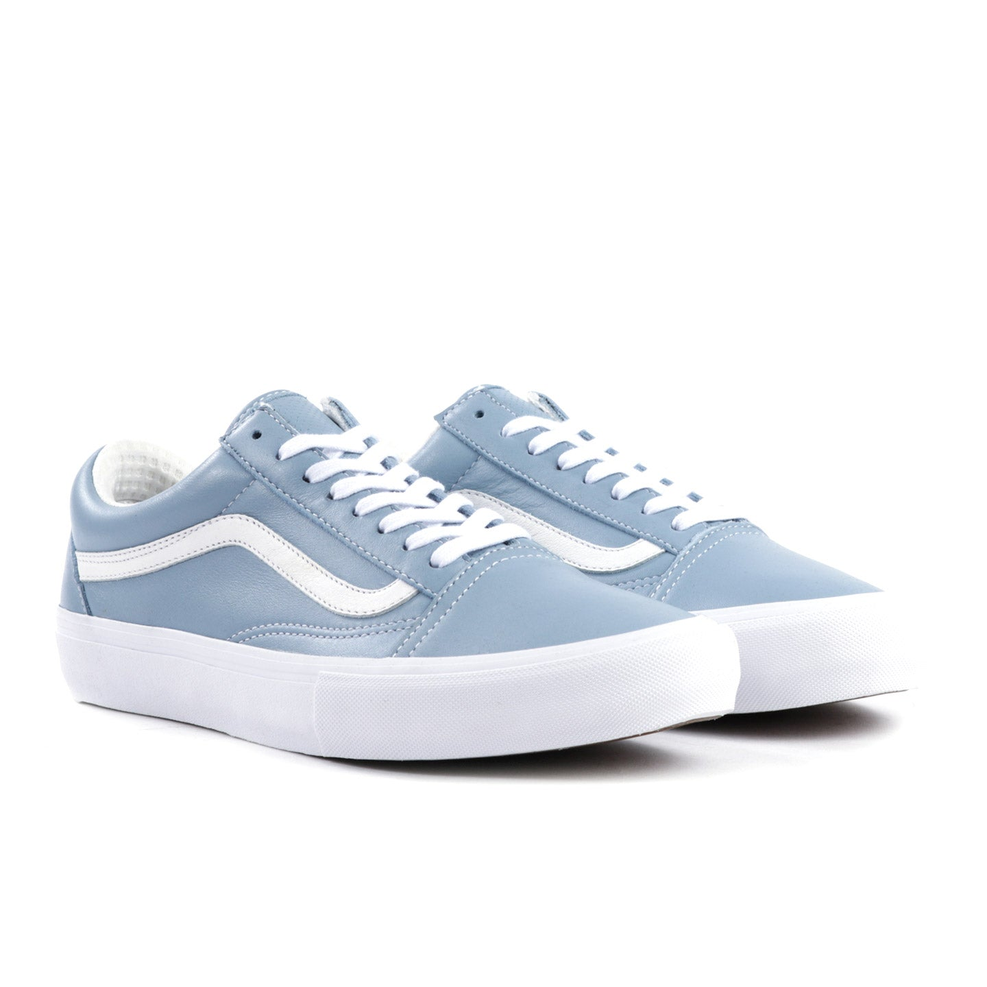 VAULT BY VANS OLD SKOOL LX ITALIAN LEATHER ARCTIC